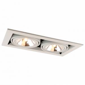 Встраиваемый светильник Arte Lamp Cardani A5949PL-2WH