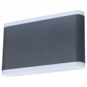 Накладной светильник Arte Lamp Lingotto A8156AL-2GY