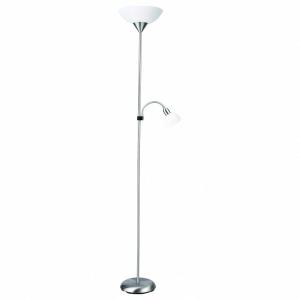 Торшер с подсветкой Arte Lamp Duetto A9569PN-2SI