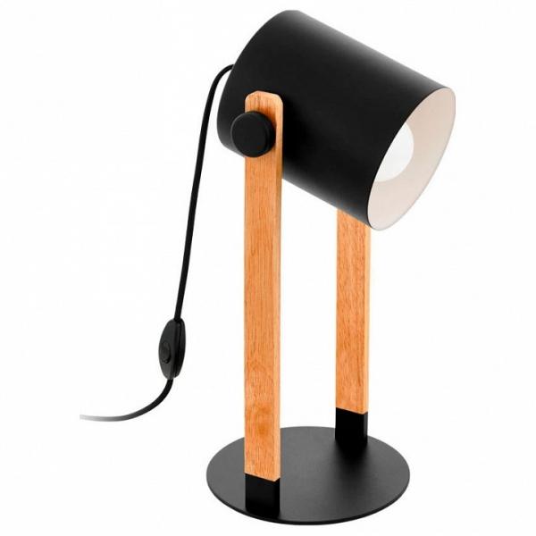 Настольная лампа декоративная Eglo Hornwood 43047