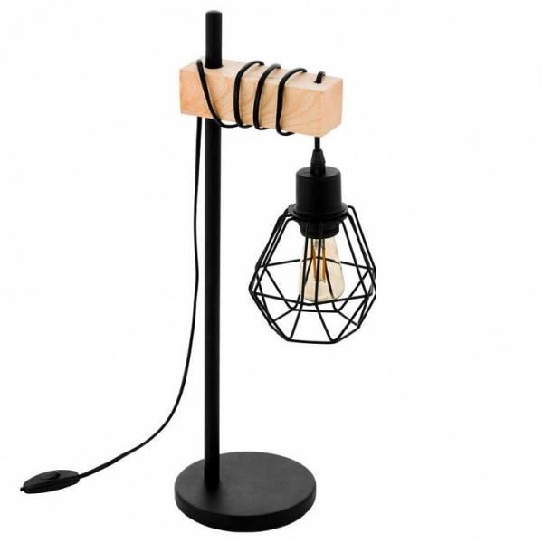 Настольная лампа декоративная Eglo Townshend 5 43136