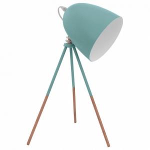 Настольная лампа декоративная Eglo Dundee 49337