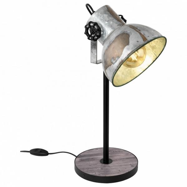 Настольная лампа декоративная Eglo Barnstaple 49718