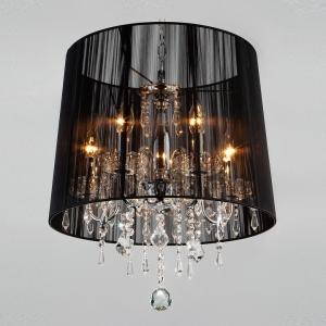 Подвесной светильник Eurosvet Allata 2045/5 хром/черный