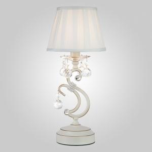 Настольная лампа декоративная Eurosvet Ivin 12075/1T белый Strotskis настольная лампа