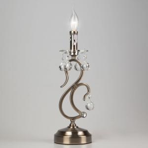 Настольная лампа декоративная Eurosvet Ernin 12505/1T античная бронза Strotskis