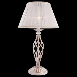 Настольная лампа декоративная Eurosvet Selesta 01002/1 белый с золотом