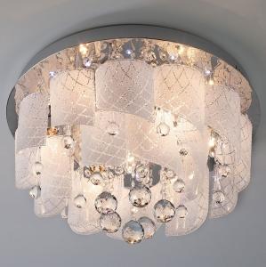 Накладной светильник Eurosvet Cascade 80117/8 хром/белый
