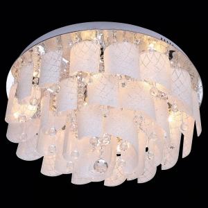 Накладной светильник Eurosvet Cascade 80117/9 хром/белый