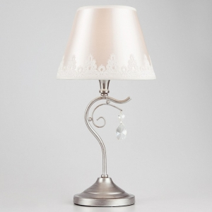 Настольная лампа декоративная Eurosvet Incanto 01022/1 серебро
