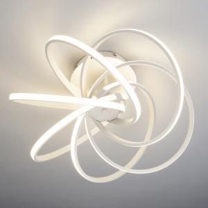 Накладной светильник Eurosvet Energy 90044/6 белый 108W