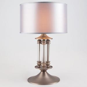 Настольная лампа декоративная Eurosvet Adagio 01045/1 сатин-никель