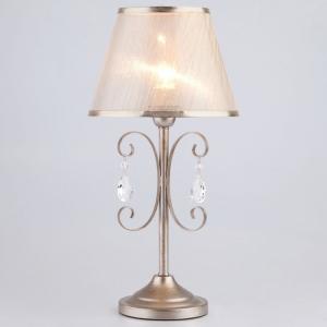 Настольная лампа декоративная Eurosvet Liona 01051/1 серебро