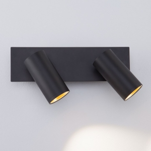 Спот Eurosvet Fleur 20066/2 LED черный/золото