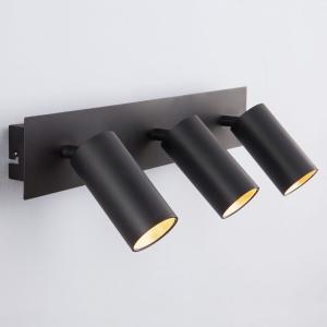Спот Eurosvet Fleur 20066/3 LED черный/золото
