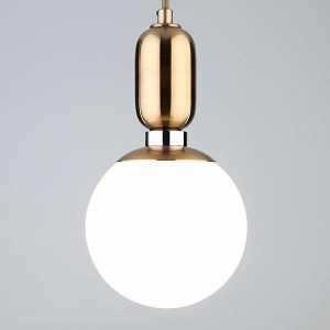 Подвесной светильник Eurosvet Bubble 50151/1 латунь