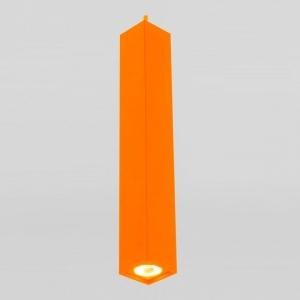 Подвесной светильник Eurosvet Cant 50154/1 LED оранжевый 7W