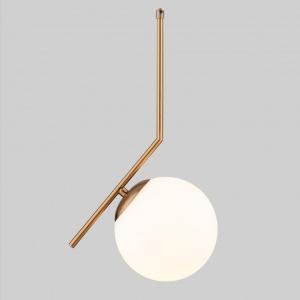 Подвесной светильник Eurosvet Frost Long 50160/1 латунь
