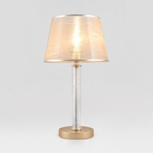 Настольная лампа декоративная Eurosvet Alcamo 01075/1 перламутровое золото