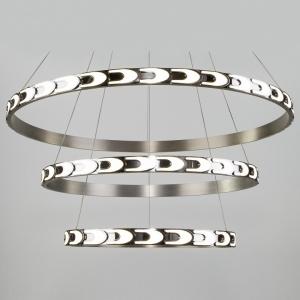 Подвесной светильник Eurosvet Chain 90163/3 сатин-никель 160W