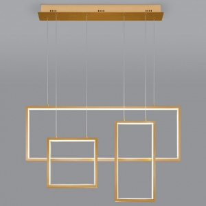 Подвесной светильник Eurosvet Direct 90178/3 золото 65W