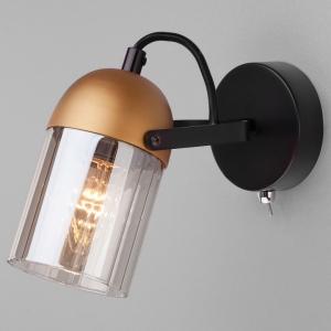 Бра Eurosvet Mars 20122/1 черный/золото