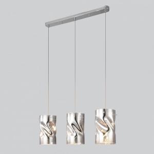 Подвесной светильник Eurosvet Spin 50184/3 хром