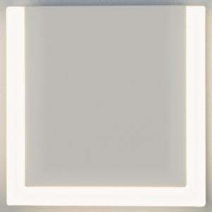 Накладной светильник Eurosvet Radiant 40146/1 LED белый 10W