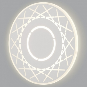 Накладной светильник Eurosvet Ilios 40148/1 LED белый 17W
