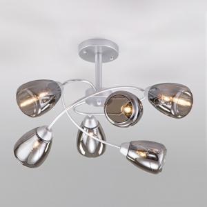 Потолочная люстра Eurosvet Noemi 30168/6 матовое серебро