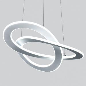 Подвесной светильник Eurosvet Onde 90217/1 белый Smart