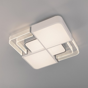 Накладной светильник Eurosvet Target 90182/1 белый/серебро