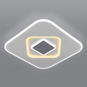 Накладной светильник Eurosvet Just 90218/1 белый/ серый