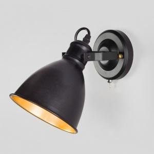 Бра Eurosvet Denley 70112/1 черный
