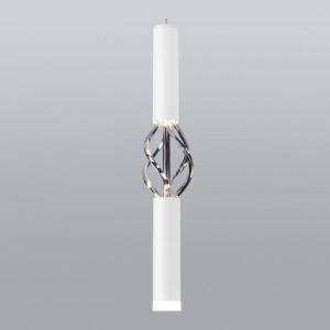 Подвесной светильник Eurosvet Lance 50191/1 LED белый/хром