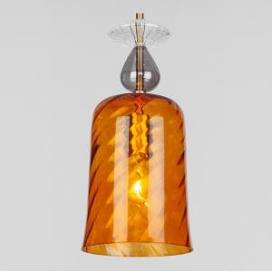 Подвесной светильник Eurosvet Dream 50194/1 янтарный