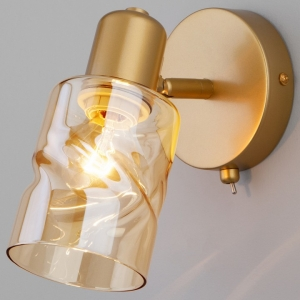 Бра Eurosvet Ansa 20120/1 перламутровое золото