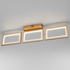 Накладной светильник Eurosvet Maya 90223/3 матовое золото