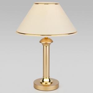 Настольная лампа декоративная Eurosvet Lorenzo 60019/1 перламутровое золото