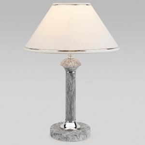 Настольная лампа декоративная Eurosvet Lorenzo 60019/1 мрамор