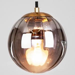 Подвесной светильник Eurosvet Juno 50207/1 дымчатый