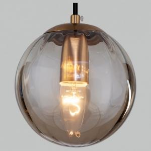 Подвесной светильник Eurosvet Juno 50207/1 янтарный