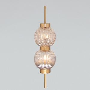 Подвесной светильник Eurosvet Plaza 50186/2 латунь