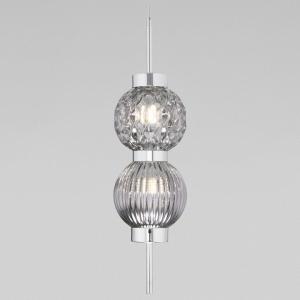 Подвесной светильник Eurosvet Plaza 50186/2 хром