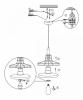 Подвесной светильник Globo Donna 15147