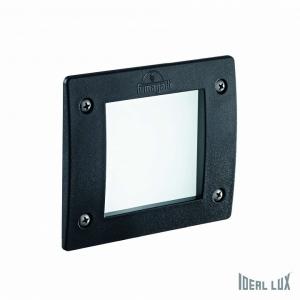 Встраиваемый светильник Ideal Lux LETI LETI FI1 SQUARE NERO