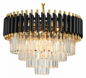 Подвесной светильник Natali Kovaltseva DARIAN DARIAN 76017/10C GOLD BLACK