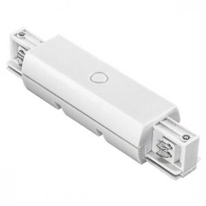 Соединитель с токопроводом линейный для треков Lightstar Barra 504186