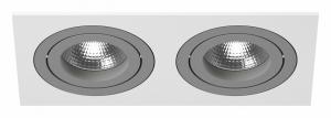 Встраиваемый светильник Lightstar Intero 16 double quadro i5260909