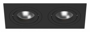 Встраиваемый светильник Lightstar Intero 16 double quadro i5270707